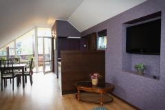 Апартаменты 3-х комнатные с кухней, 6 местные